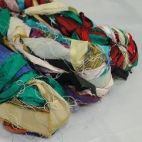 Sari Ribbon Yarn – Multi Colour