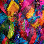 Sari Ribbon Yarn - Multicolour