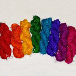 Recycled SariSilk - Chunky - Single colour